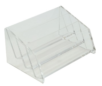Acrylic Name Card Holder 3 Tier Millen Stationery