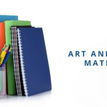 Art and School Materials